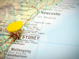 map sydney location