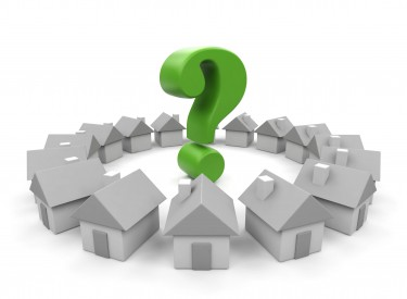 15563628 - house and question  3d image