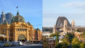 Sydney melb