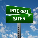interest rate sign