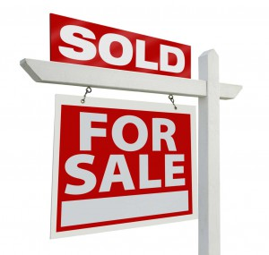 for sale sign sold