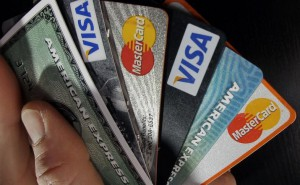 Lots of credit cards