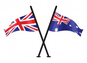 41235652 - great britain and australian vector flag